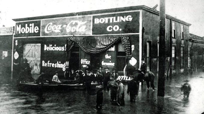 The Mobile Coca-Cola Bottling Company On Water Street Was
