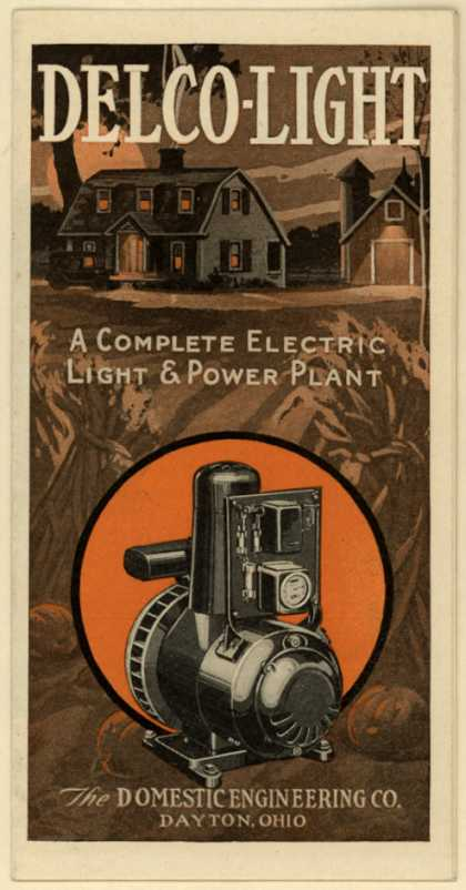 In 1935 A Very Modern Electrical System Came To