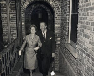 Walt Disney and his wife, Lillian, toured the Bellingrath Home in 1957.