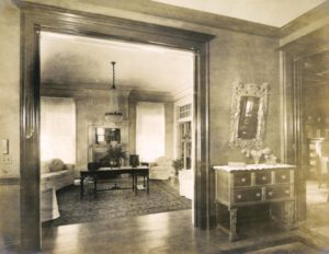 Interior of the Ann Street home.