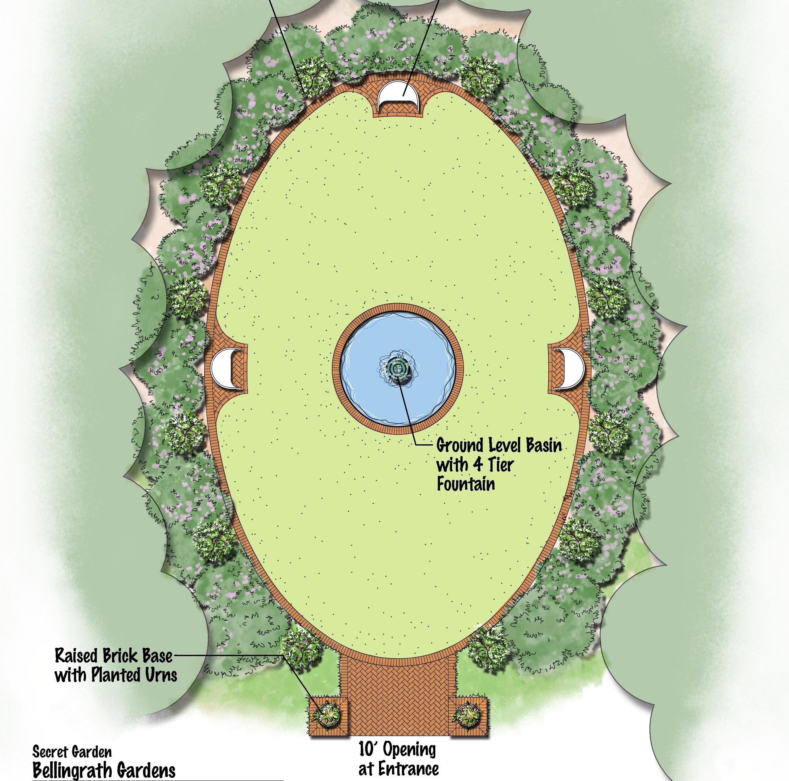 The Secret Garden A new place of serenity Bellingrath Gardens