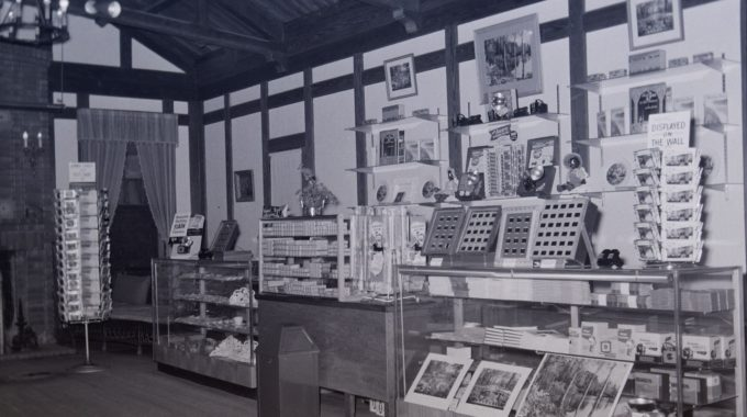 "The Original Bellingrath Gift Shop Was Installed In The Former ""Lodge,"" A Rustic Building Used As A Guesthouse For The Bellingraths' Relatives."
